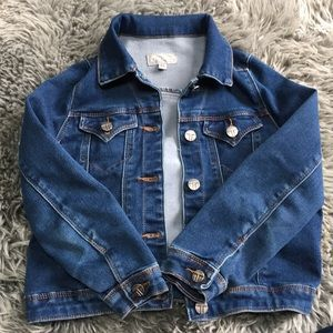 Tractr denim / jean jacket. Girls Size 6